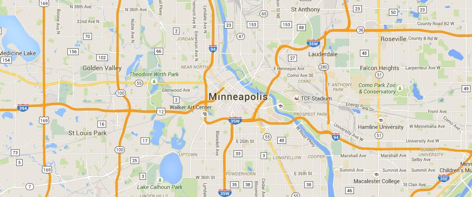Minneapolis Dumpster Rental Service Area